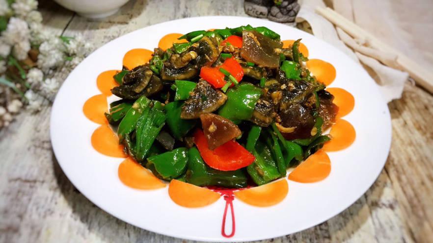 皮蛋炒青椒