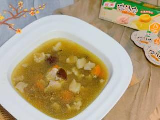 养生汤—香菇肉片汤,分享