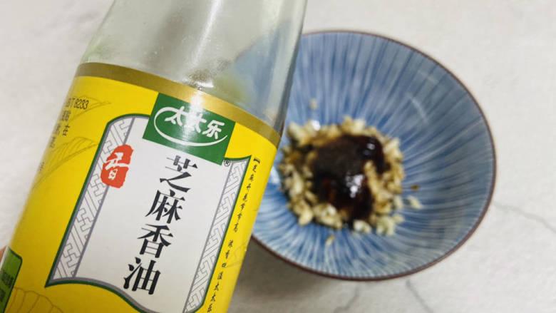 凉拌蒜蓉西兰花,一勺香油