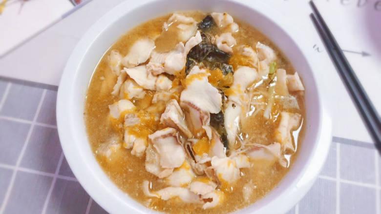 金汤鱼,一大碗,料满满的