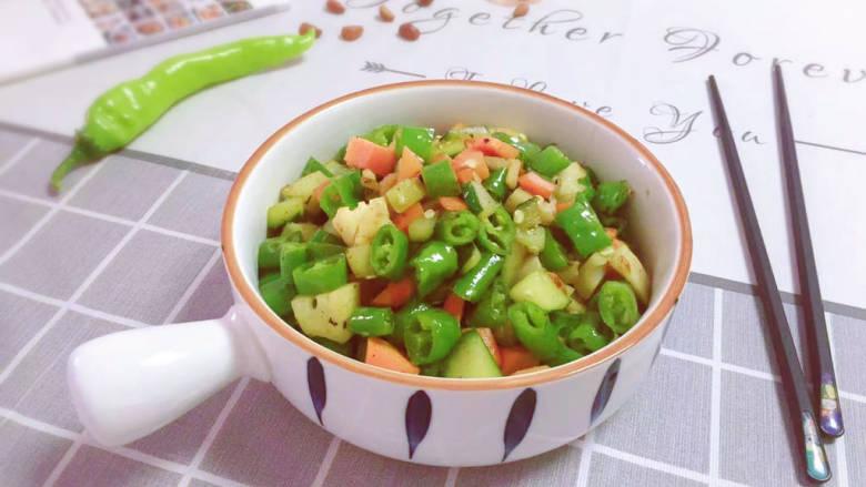 杂炒时蔬,美美的一道时令蔬菜