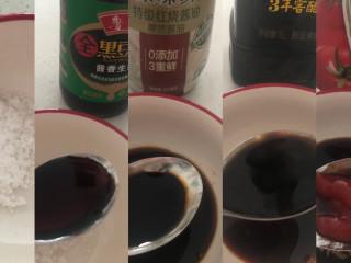 糖醋鸡蛋,配调料汁:1/2白糖➕2勺生抽➕1/2老抽➕陈醋1.5勺➕番茄酱1勺